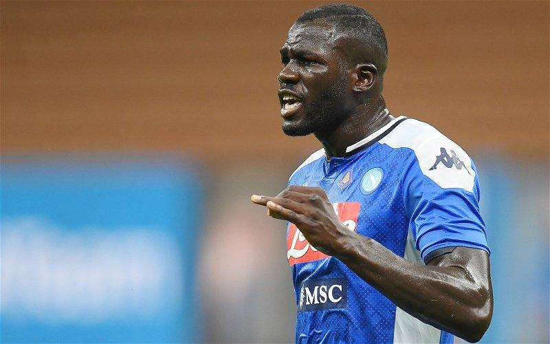 Image for Report: Napoli slash Kalidou Koulibaly asking price
