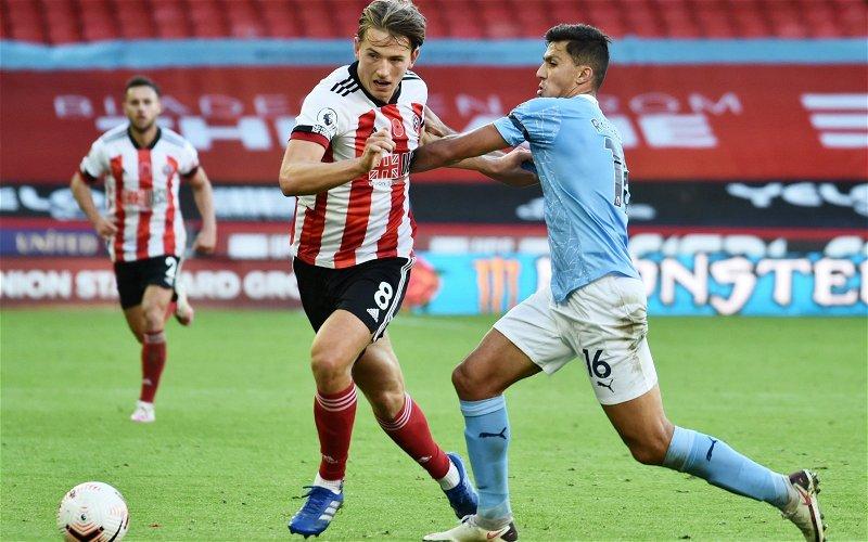 Image for Report: Sheffield United's Sander Berge stance revealed