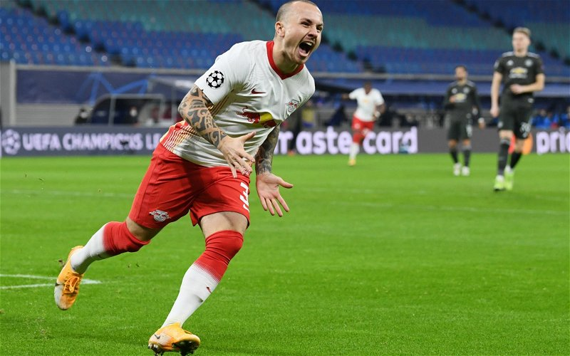 Image for Angelino unavailable for RB Leipzig's clash with Liverpool