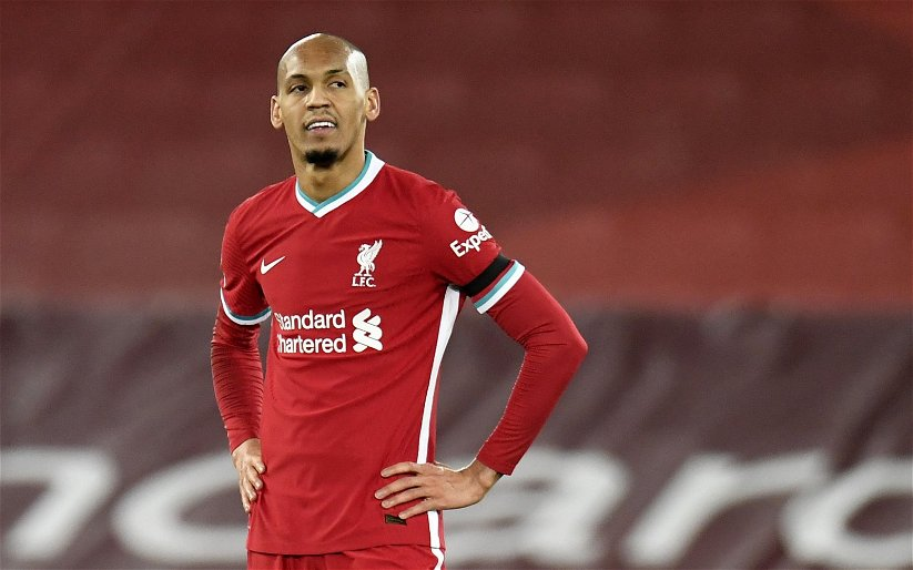 Image for Pep Lijnders admits Fabinho midfield decision dented title hopes