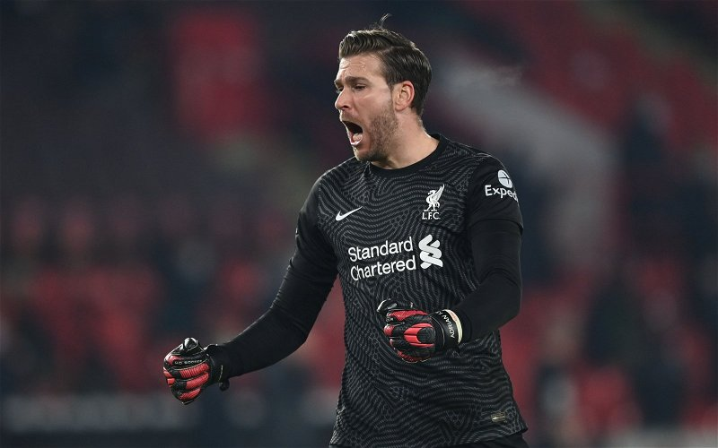 Image for Report: Adrian 'will not continue at Liverpool'
