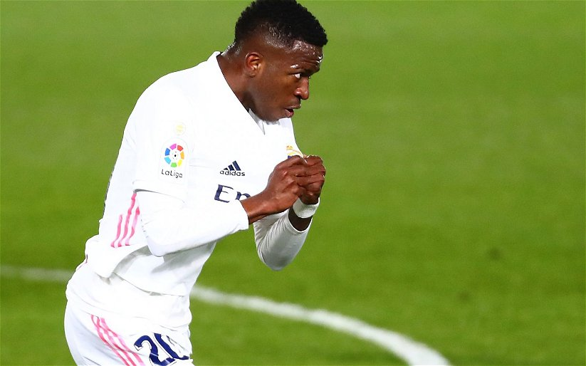 Image for Many Liverpool fans shy away from Vinicius Junior links