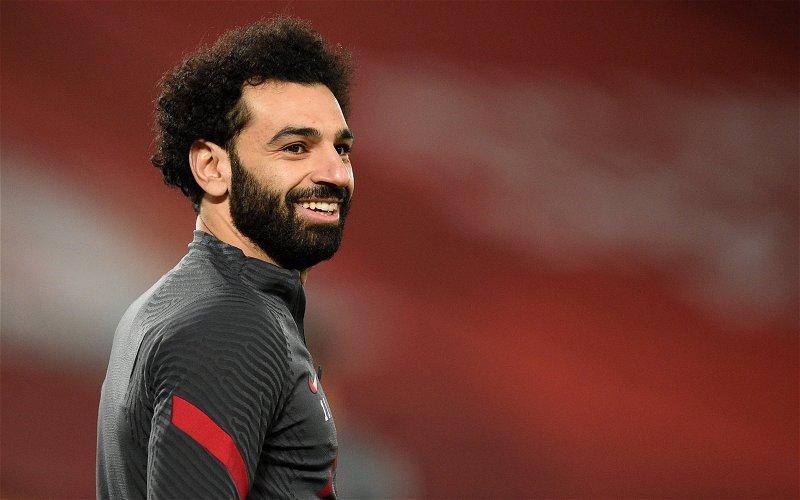 Image for La Liga chief Javier Tebas 'hopes' Mohamed Salah will join Spanish club