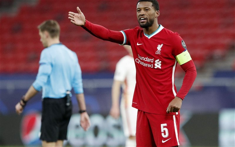 Image for Report: Barcelona offer contract to Gini Wijnaldum