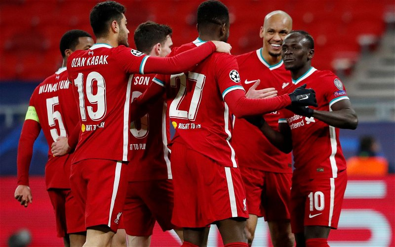 Image for Liverpool Player Ratings: RB Leipzig (H)